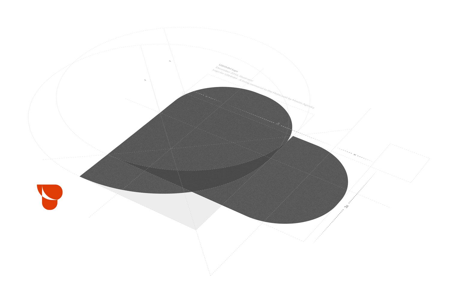 Crying heart USHMM logo 2016