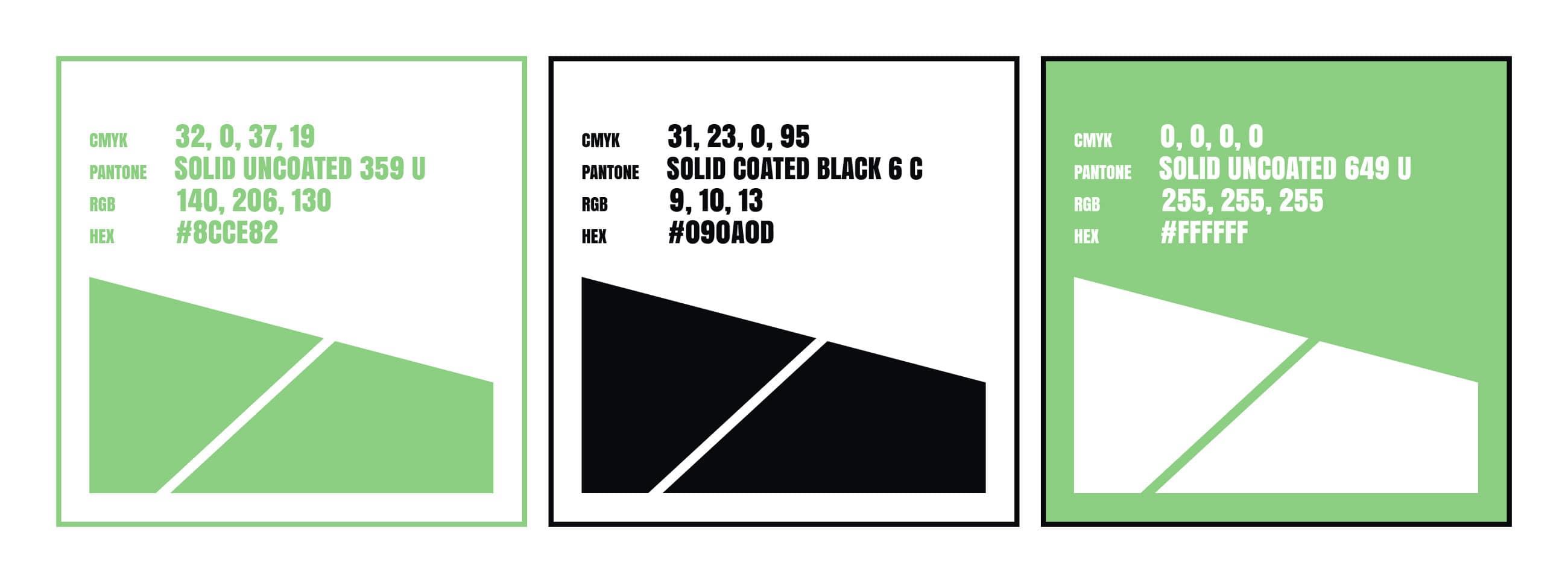 Longbow Advantage brand colors